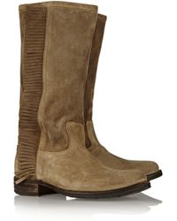 Fiorentini + Baker Emy Brushed Suede Boots - Lyst