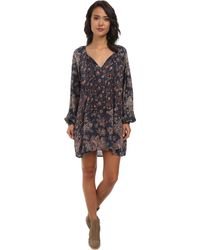 Free People Multicolor Lucky Loosey - Lyst