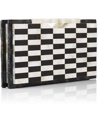 Nathalie Trad Mother Of Pearl Hugo Clutch - Lyst