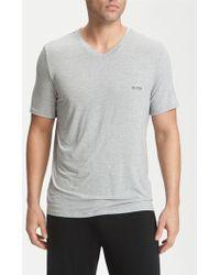BOSS | 'innovation 5' V-neck T-shirt | Lyst