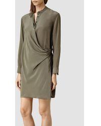 AllSaints Nicola Dress - Green