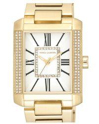 Vince Camuto Rectangle Bracelet Watch - Metallic