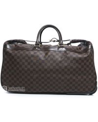 Louis Vuitton Pre-Owned Damier Ebene Eole 60 Rolling Travel Bag - Lyst