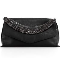 Milly Collins Chain Clutch - Lyst