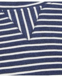 Norse Projects - Navy Halfdan Striped Wool Knit Top - Lyst