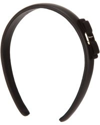 Ferragamo Black Hair Band - Lyst