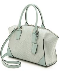 Narciso Rodriguez - Claire Zip Tote - Ice - Lyst