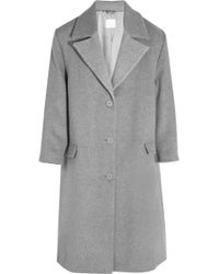 Richard Nicoll Oversized Wool Coat - Lyst