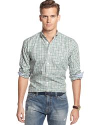 Tommy Hilfiger Tate Plaid Shirt - Lyst