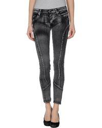 Cheap Monday Denim Trousers - Lyst