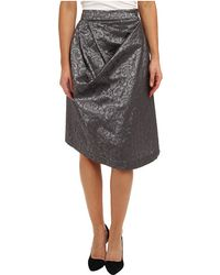 Vivienne Westwood Anglomania Gray Survival Skirt - Lyst