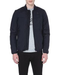 G-star Raw Setscale Zipup Jacket Blue - Lyst