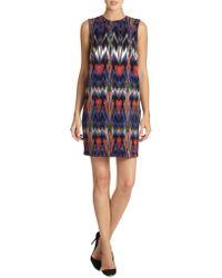 M Missoni Abstract Ikat Shift Dress - Lyst