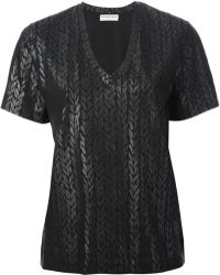 Balenciaga Black Tshirt - Lyst