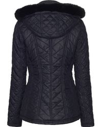 James Lakeland - Hooded Quilted Jacket - Lyst