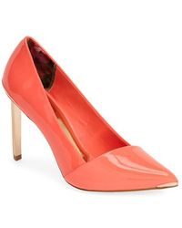 Ted Baker 'Naretta' Pointy Toe Pump - Lyst