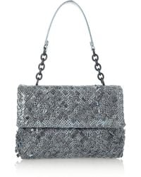 Bottega Veneta Olimpia Intrecciato Ayers Shoulder Bag - Lyst
