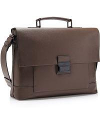 Calvin Klein White Label Clyde Briefcase brown - Lyst