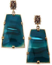 Stephen Dweck - Blue Agate Trapezoid Earrings - Lyst