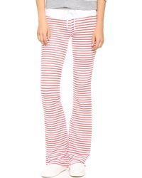 Wildfox Stripe Track Pants  Sailor Stripe - Lyst