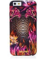Just Cavalli - Leo Fire Iphone 6/6s Case - Lyst