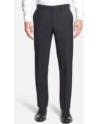 Calibrate | Wool & Mohair Flat Front Trousers | Lyst