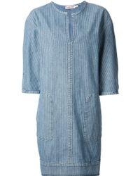 See By Chloé Oversized Pocket Dress - Lyst