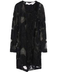 Ann Demeulemeester Short Dress - Lyst