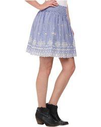 Ariat - Chambray Border Skirt - Lyst