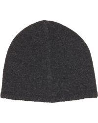 John Varvatos Cashmere Knit Cap - Lyst
