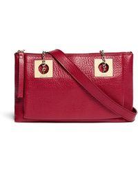 Chloe Red Leather Shoulder Bag 81