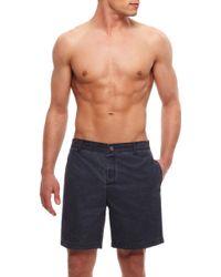 Hugo Boss Sunfish  Cotton Blend Board Shorts - Lyst