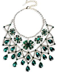 DSquared² Necklace green - Lyst