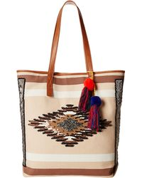 Sam Edelman Thea Tribal Beaded Tote - Lyst