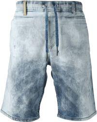 Diesel Blue Deenee Shorts - Lyst