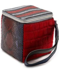 House Of Holland Roll The Dice Clutch - Multi - Lyst