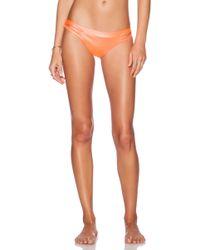 CA By Vitamin A - Gypsy Cut Out Bikini Bottom - Lyst