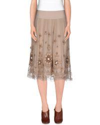 Taviani - 3/4 Length Skirt - Lyst