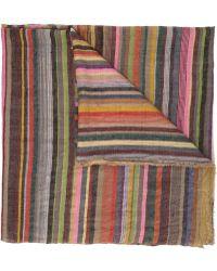 Dosa - Striped Scarf - Lyst