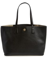Tory Burch 'Perry' Leather Tote - Lyst