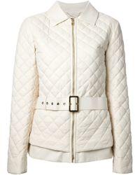 Ferragamo Belted Jacket - Lyst