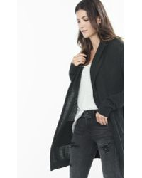 Express Black Hooded Cover-up
