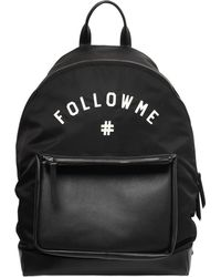 Ports 1961 - Follow Me Nylon & Leather Backpack - Lyst