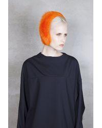 Onar - Magda Orange Toscana Shearling Earmuffs - Lyst