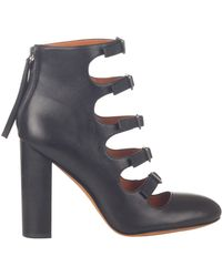 Marc By Marc Jacobs Multi Strap Chunky Heel - Lyst