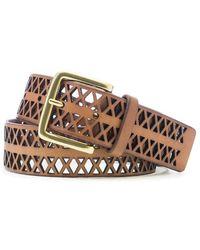 Kooba - Perforated Waist Belt - Lyst