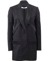 Givenchy Long Tuxedo Blazer - Lyst