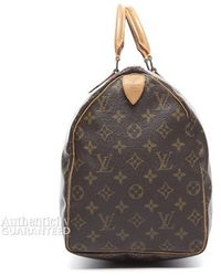 Louis Vuitton Preowned Monogram Canvas Speedy 40 Bag - Lyst