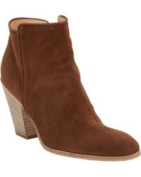 Barneys New York Daddy Point-Toe Ankle Boots - Lyst