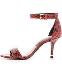 Michael Kors Suri Single Band Sandals - Mandarin - Lyst